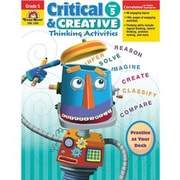 Evan-Moor® Critical and Creative Thinking Activities Teacher Resource Book, Grades 5th