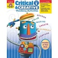 Evan-Moor® Critical and Creative Thinking Activities Teacher Resource Book, Grades 6th+