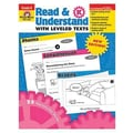 Evan-Moor® Read and Understand With Leveled Texts Teacher Resource Book, Grades Kindergarten