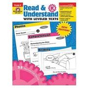 Evan-Moor® Read and Understand With Leveled Texts Teacher Resource Book, Grades Kindergarten