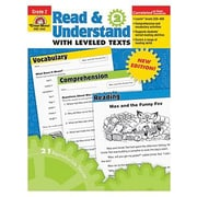 Evan-Moor® Read and Understand With Leveled Texts Teacher Resource Book, Grades 2nd