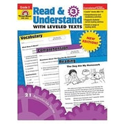Evan-Moor® Read and Understand With Leveled Texts Teacher Resource Book, Grades 3rd