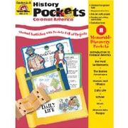 Evan-Moor® History Pockets Colonial America Resource Book, Grades 4th - 6th