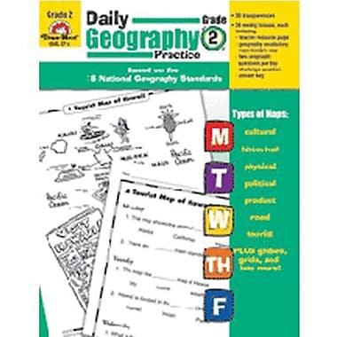 Evan-Moor® Daily Geography Practice Resource Book, Grades 2nd