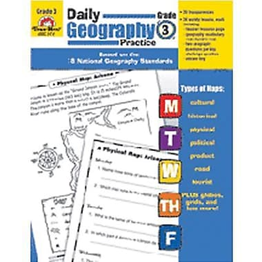Evan-Moor® Daily Geography Practice Resource Book, Grades 3rd
