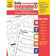 Evan-Moor® Daily Geography Practice Resource Book, Grades 5th
