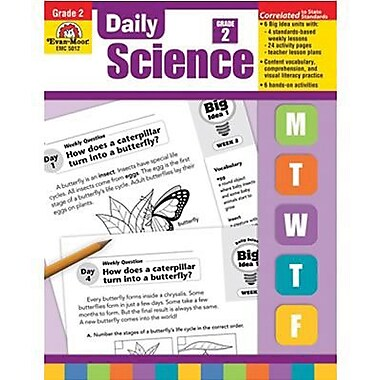Evan-Moor® Daily Science Activity Book, Grades 2nd