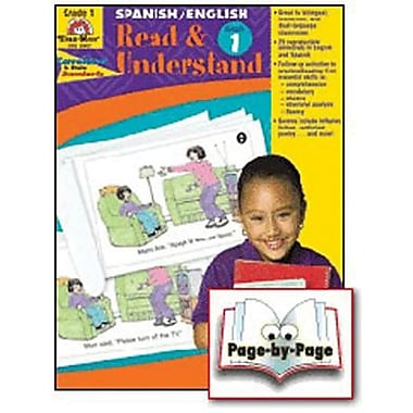 Evan-Moor® Read and Understand English/Spanish Teacher Resource Book, Grades 1st