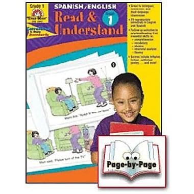 Evan-Moor® Read and Understand English/Spanish Teacher Resource Book, Grades 1st
