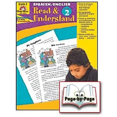 Evan-Moor® Read and Understand English/Spanish Teacher Resource Book, Grades 2nd