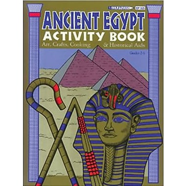Edupress® Hands-On Heritage™ Ancient Egypt Activity Book, Grades 3rd+