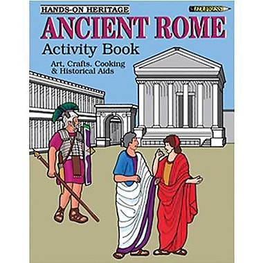 Edupress® Hands-On Heritage™ Ancient Rome Activity Book, Grades 3rd+