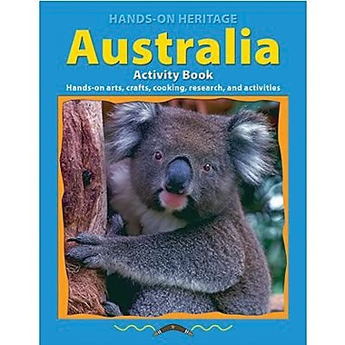Edupress® Hands-On Heritage™ Australia Activity Book, Grades 3rd+