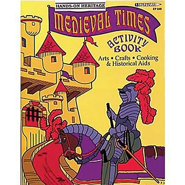 Edupress® Hands-On Heritage™ Medieval Times Activity Book, Grades 3rd+