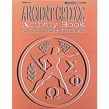 Edupress® Hands-On Heritage™ Ancient Greece Activity Book, Grades 3rd+