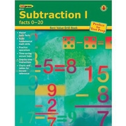 Edupress® Best Value Subtraction I -Facts 0-20 Drill Book, Grades Kindergarten -4th