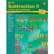 Edupress® Best Value Subtraction II -Review and Regrouping Drill Book, Grades Kindergarten -4th