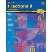 Edupress® Best Value Fractions II -Operations Drill Book, Grades Kindergarten -4th