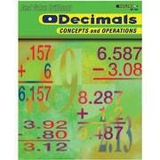Edupress® Best Value Decimals -Concepts and Operations Drill Book, Grades 2nd -6th