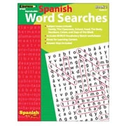 Edupress® Spanish In A Flash™ Word Searches Book 1, Grades 3+