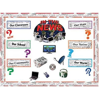 Edupress® Bulletin Board Set, Current Events