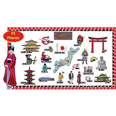 Edupress® Bulletin Board Set, Japan