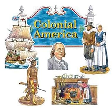 Edupress® Bulletin Board Set, Colonial America