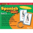 Edupress® Spanish In A Flash™ Color-Coded Flash Card Set 3, Grades 3+