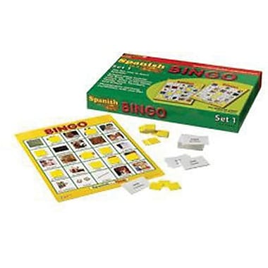 Edupress® Spanish In A Flash™ Bingo Game Set 1, Grades Kindergarten - 3rd