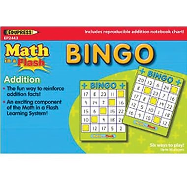 Edupress® Math In A Flash Bingo Game, Subtraction