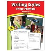 Edupress® Writing Styles Photo Prompts Card, Grades 2nd+