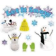 Edupress® Mini Bulletin Board Set, Let It Snow