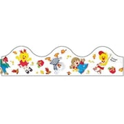 Eureka® pre-school - 5th Grades Scalloped Deco Trim, Suzy's Zoo Back-To-School
