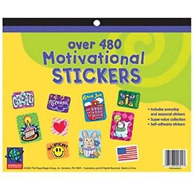 Eureka® Jumbo Stickers Book, 480 Motivational
