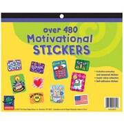 Eureka® Jumbo Stickers Book, 1,442 Motivational