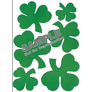 Eureka® Window Cling, Shamrocks