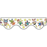 Eureka® pre-school - 5th Grades Scalloped Deco Trim, Star Students