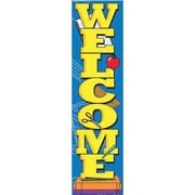 Eureka® Toddler - 8th Grades Vertical Banner, Welcome