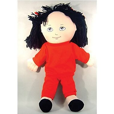 Childrens Factory® Asian Girl In Sweat Suit Soft Ethnic Doll, 14in.