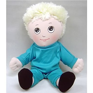 Childrens Factory® Caucasian Boy In Sweat Suit Soft Ethnic Doll,14in.
