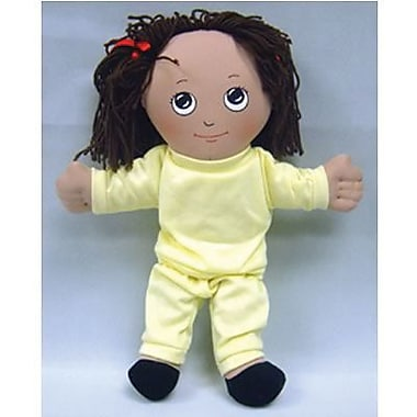 Childrens Factory® Hispanic Girl In Sweat Suit Soft Ethnic Doll, 14in.