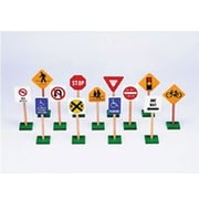 Guidecraft® Block Play traffic Signs, 7""
