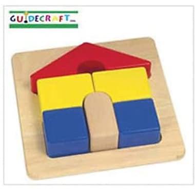Guidecraft® Primary Puzzle, House