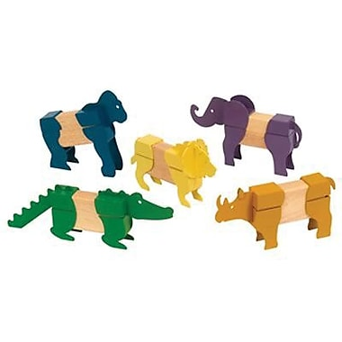 Guidecraft® Safari Animals Block Mates