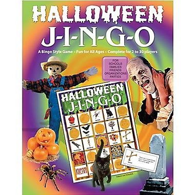 Gary Grimm & Associates® Halloween Jingo Game, Grades Kindergarten - 7th