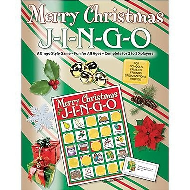 Gary Grimm & Associates® Merry Christmas Jingo Game, Grades Kindergarten - 7th