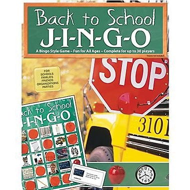 Gary Grimm & Associates® Back To School Jingo Game, Grades Kindergarten - 3rd