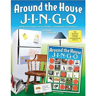 Gary Grimm & Associates® Around The House Jingo Game, Grades Kindergarten - 3rd
