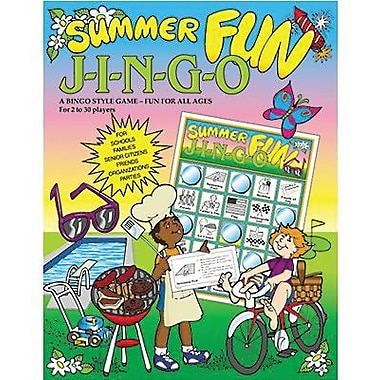 Gary Grimm & Associates® Summer Fun Jingo Game, Grades Kindergarten - 7th