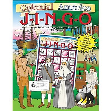 Gary Grimm & Associates® Colonial America Jingo Game, Grades 4th - 8th